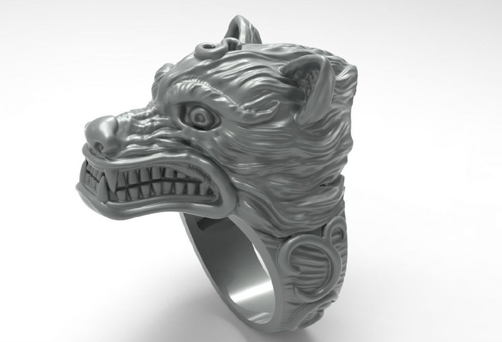 buying certified wolf ring
